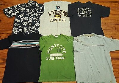 Lot of 6 Mens Tops Size Large