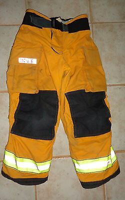 Globe G-xtreme Turnout Bunker Pants with Liner 32 x 28-euc