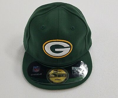 GREEN BAY PACKERS New Era NFL Infants My 1st 59Fifty 5950 Fitted Hat