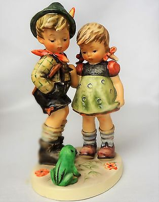 Vintage Hummel Goebel figurine Timid Little Sister #394 (1979-1991) TMK 6