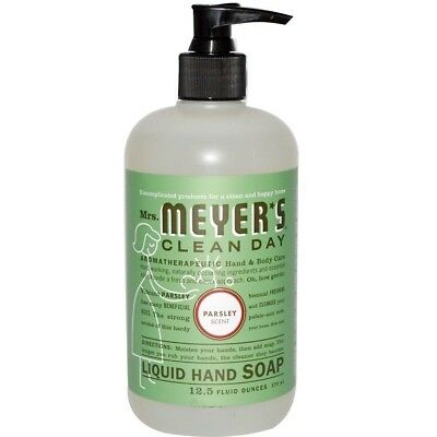 Mrs. Meyer's Clean Day Hand Soap, Parsley, 12.5 Oz.