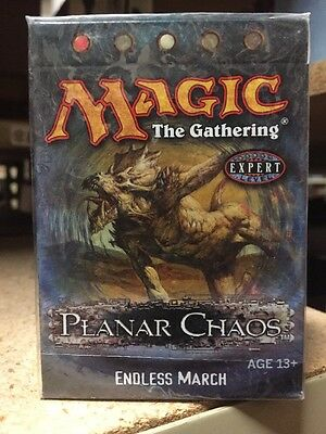 Magic The Gathering Planar Chaos Endless March Deck For Card Game MTG CCG