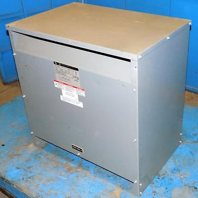 Square D 3Ph 480 To 240V 75Kva General Purpose Transformer 75T6Hct