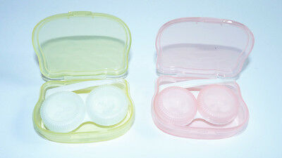 Transparent Portable Mini Contact Lens Case Storage Box Holder Container