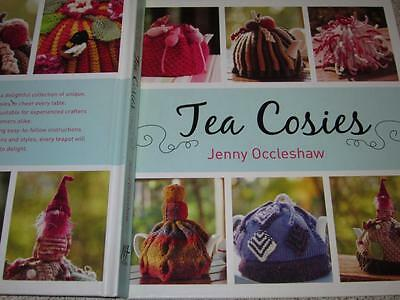 TEA COSIES Pattern Book Craft KNITTING AND CROCHET TEA COSY BY JENNY OCCLESHAW