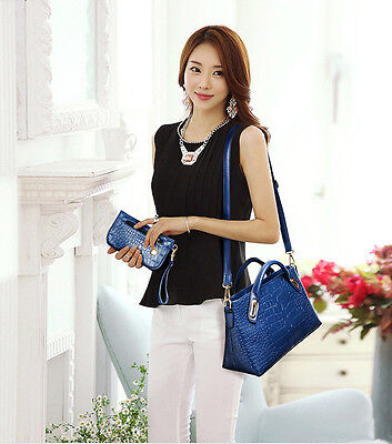 Fashion Women Handbag Shoulder Bags Tote Purse Leather Ladies Messenger Hobo Y