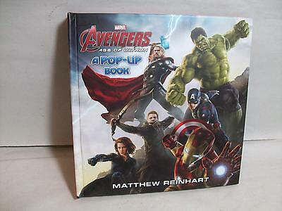 Indiana Warehouse Find=Marvel Avengers-Age Of Ultron-Pop Up Book-Factory New