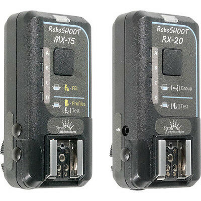 RoboSHOOT MX-15 / RX-20 Flash Trigger Kit for Nikon i-TTL & Fujifilm X-Series