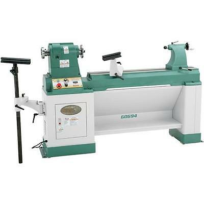 """G0694 Grizzly 20"""" X 43"""" Heavy-Duty Variable-Speed Wood Lathe"""