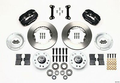 WILWOOD Dynalite 4 Piston Front Brake System GM F-Body 1982-92 P/N 140-11012