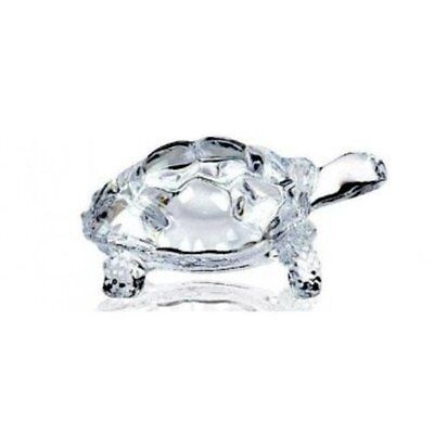 Lightahead® CHINESE FENG SHUI TORTOISE TURTLE GLASS STATUE LUCKY GIFT OF...