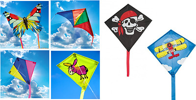 Brookite Kids Mini / Micro Childrens Easy To Fly Fun Single Line Kite 6 Designs