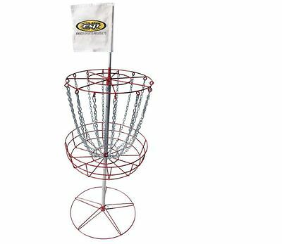 Emsco Disc Golf Goal Game Yard Outdoor Games Fun Family Steel Trapper Basket NEW