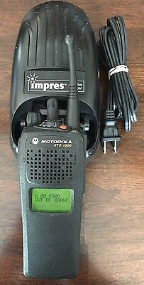 Motorola XTS1500 Model 1.5 800 MHz Radio With Battery, Antenna And Charger
