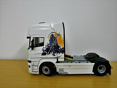 1:50 Scale Scania,  Clear Laser Print Waterslide Decals,Code 3.BN