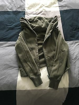 Converse All Star Womens Zip Up Sweatshirt (Hoodie) Size Small (S)
