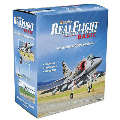 RealFlight Basic Flight Simulator Mode 2 - A-GPMZ4223