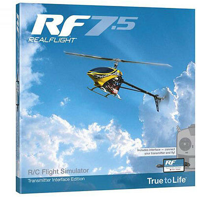 Realflight 7.5 with Wired Interface - A-GPMZ4535