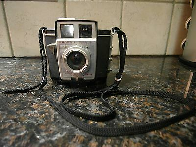 Vintage Kodak Brownie Twin 20 Camera with Supermite Flash Holder 1960's