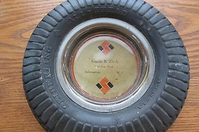 Vintage Tire Ashtrays