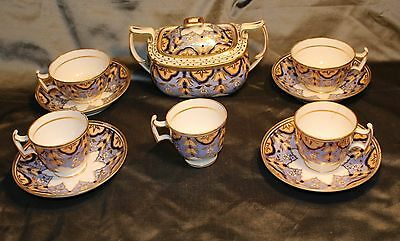 Partial Georgian Bone China Period Tea&Coffee Service (Possibly Coalport) c.1820