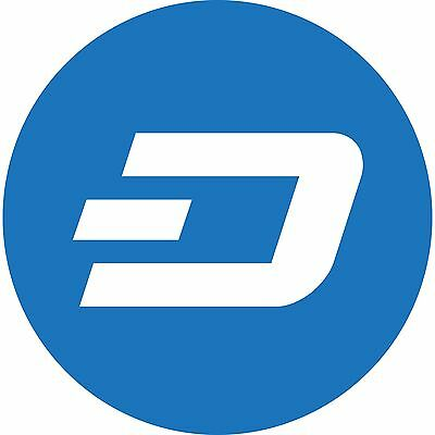 DASH 0.1 (Not Dashcoin) 0.1 DASH Direct to your Wallet Address Cryptocurrency