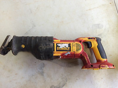 (1) Good Used DEWALT Bare-Tool DC385B 18-Volt Cordless Reciprocating Saw