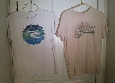 lot of 2 Mens Size M shirts ripcurl element