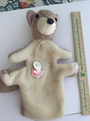 Vintage Squirrel Hand Puppet by MONA Czechoslovakia w/ Tags