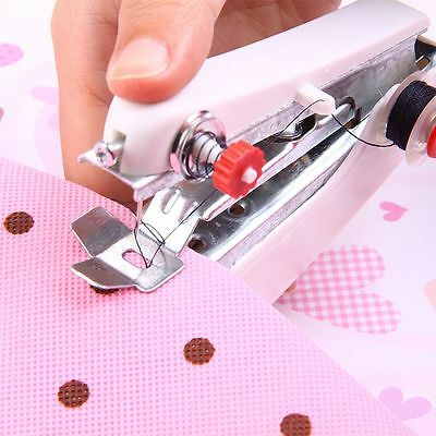 Popular Portable Cordless Mini Hand-Held Automatic Clothes Sewing Machine Travel