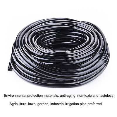 20m 50m Watering Tubing Hose Pipe 4/7mm Micro Drip Garden Irrigation System