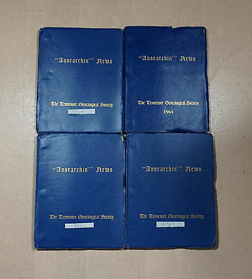 Ansearchin' News Lot - 16 Issues 1964 1965 1966 67 Tennessee Memphis Genealogy