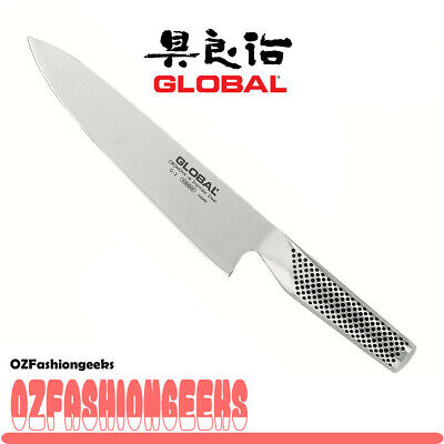 HOT DEAL! New G-2 GLOBAL Chef Cooks Knife 20cm G2 Stainless Steel 79520