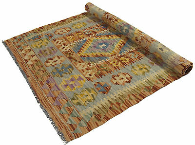 112x80 CM Autentik Kilim Kelem Original Hand Made - Classic STYL - EASY TO CLEAN