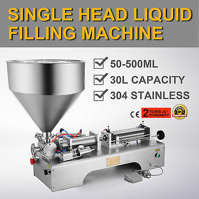 500ML Semi-Automatic Liquid Paste Filling Machine Innovative Magnetic Cylinder