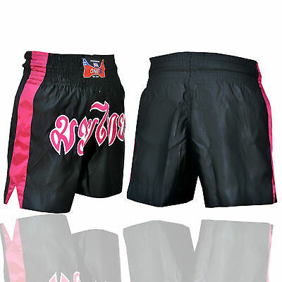 ONEX MuayThai Fight Shorts MMA Grappling Kick Boxing Trunks Martial Arts UFC BOX