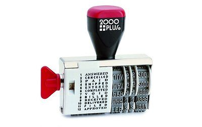 2000Plus Traditional Date Stamp with 12 Phrases 010180