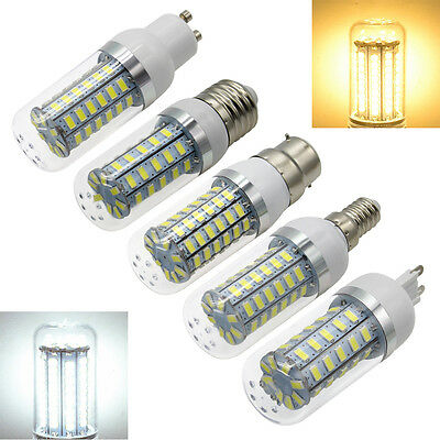 E27 B22 GU10 E14 G9 5730SMD LED Corn Bulb Lamp Light 5W 7W 9W 12W 15W 220-240V