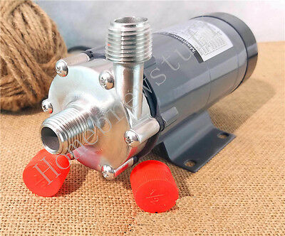 Magnetic Drive Pump 15R With Stainless Steel Head Draft Beer Homebrew