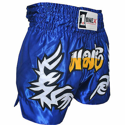 ONEX MuayThai Fight Shorts MMA Grappling Kick Boxing Trunks Martial Arts UFC