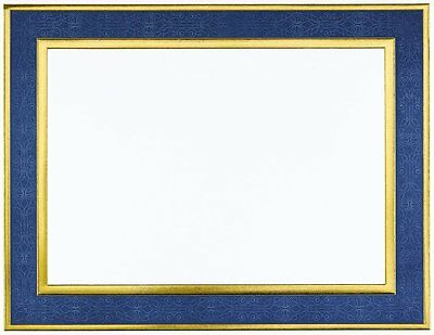 "Great Papers! Navy Frame Embossed and Gold Foil Certificate, 8.5"" x 11"", 15"