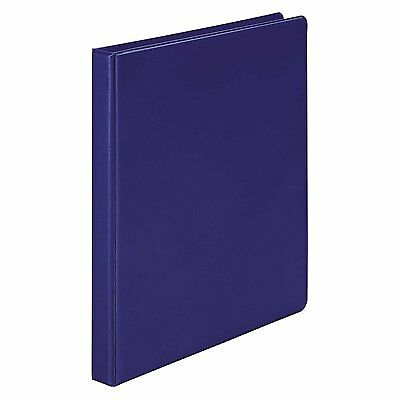Wilson Jones Round Ring Binder, 368, Basic, 1/2 Inch, Blue W368-13NBL