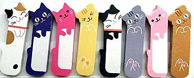 1 X 240 Sheets Cute Kitten Kitty Cat Animal Sticker Post-it Bookmark Marker Memo