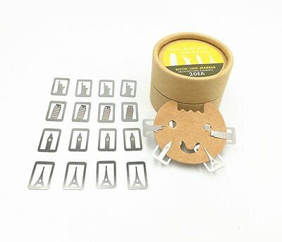 Alimitopia 20pcs Exquisite Mini Metal Hollow out Bookmark Book Mark Paper Gift