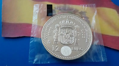 Moneda De Plata  España 12 Euros Plata 0.925 Año 2003 In Your Original Envelope