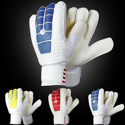 Practical Men's Male Football Soccer Goalkeepers PU and Latex Slip Gloves New