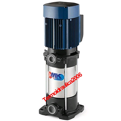 Vertical Multi Stage Electric Water Pump MK 3/4 1Hp 400V Pedrollo Z1