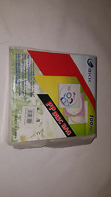 PP CD Disc cover Double 100pc
