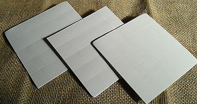75 Foam self-adhesive sticky pads 20mm x 20mm crafting kids crafts Posters