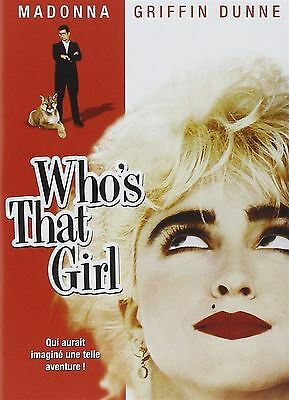 FILM DVD - WHO'S THAT GIRL - MADONNA - Nuovo!!